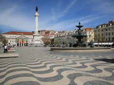 lisboa portugal | Portugal Turismo: Plaza del Rossio en Lisboa