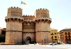 TORRES DE SERRANOS These towers,which were constructed in the 14th century ti fuction as an entrance gate, have become one of the city¨s strongest emblems. Book now your accomodation on: www.bedbreakfasti...