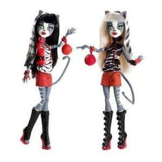 Monster High Werecat Twin Sisters