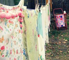 the clothesline is therapeutic for me