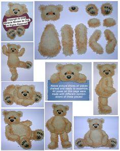 Torn Paper Bear Examples