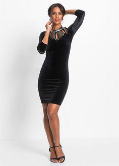 Večerné šaty • čierna • bonprix obchod Bodycon Dress, Black, Dresses, Fashion, Black People, Fashion Styles, Dress, Fashion Illustrations, Gown