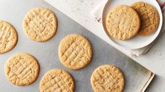 Enjoy these classic peanut butter cookies that can be made ready in 50 minutes.