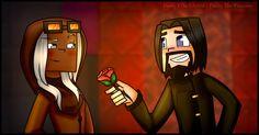 Minecraft Story Mode: Ivor X Harper by PrettyXTheXArtist.deviantart.com on…