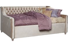 Alena Champagne 2 Pc Full Daybed - Rooms To Go Sofa Daybed, Daybed Room, Bed Rooms, Guest Rooms, Sleeper Sofa, Bedroom Furniture Stores, Kids Room Furniture, Cheap Furniture, Bedroom Sets