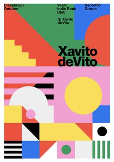 "poster"" by quim marin / spain / digital print Graphic Design Layouts, Graphic Design Posters, Graphic Design Inspiration, Typography Design, Layout Design, Poster Designs, Design Design, Design Trends, Mises En Page Design Graphique"