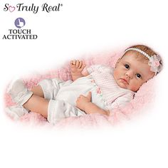 Check out the little video on this site!  You might not have to give me grandkids after all!  LOLOL!!  :-D  ~ ~ ~ (BTW, remember tha movie with Rita Wilson about the imaginary baby?!?)   ~ ~ ~  Olivia's Gentle Touch Baby Doll