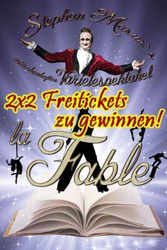 2x2 Tickets zur Premiere von Stephan Masurs Varietespektakel – La Fable im Pantheon Theater Bonn zu gewinnen!