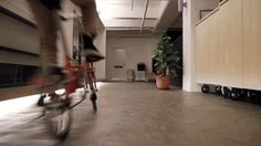 Cinemagraphs of Office Cycling
