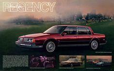 1986 Oldsmobile Ninety Eight Regency Brougham Sedan.  Probably the most beautiful of all.  Had it ten years.