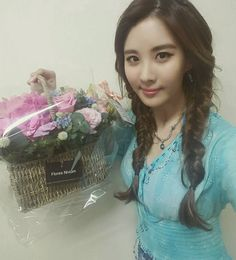 SNSD SeoHyun thanks fans with her adorable SelCa pictures ~ Wonderful Generation