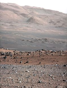 Curiosity rover captures stunning vistas of rugged Mars.