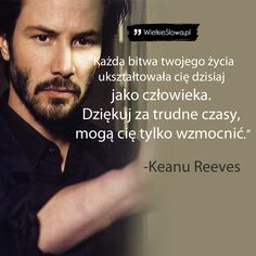 Życie - cytaty, sentencje, aforyzmy o życiu Book Quotes, Life Quotes, Mind Power, Keanu Reeves, Self Improvement, Sentences, Life Lessons, Wise Words, Quotations
