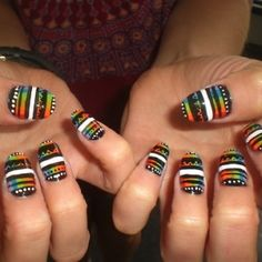 Get out your polish and put on some Bob Marley!