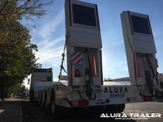 3 Axles Lowbed Trailer - Alura Trailer - Turkey