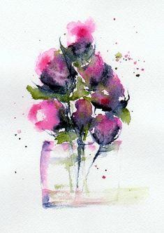From My Garden Painting - Anne Duke