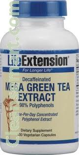 decaffeinated green tea and egcg, green tea complex egcg, egcg extract