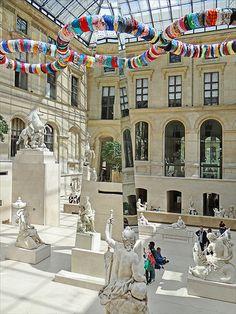 Le Paradis de Michelangelo Pistoletto au Louvre