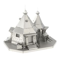 Take a walk with Harry Potter and friends to the edge of the Forbidden Forest and give Rubeus Hagrid a visit while you're there with the Metal Earth Harry Potter Hagrid's Hut Model Kit! Build your own Hagrid's Hut model with this easy model kit. Harry Potter Hagrid, Harry Potter Dolls, Earth 3d, Metal Earth, Metal Model Kits, Metal Models, Hagrids Hut, Puzzles 3d, Rubeus Hagrid