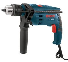 Bosch 1191VSRK 120-Volt 1/2-Inch Single-Speed Hammer Drill ** Click image to review more details.