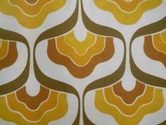 Vintage Retro Panton Geometric Groovy Featherson Barkcloth Era Fabric | eBay
