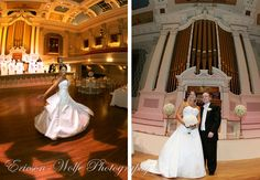 Mechanics Hall, Worcester, MA wedding of Sarah and Jesse!  :) :)