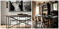 idée de salle à manger de style industrielle 8 idées de salle à manger moderne rustique - Blogue Dessins Drummond http://blogue.dessinsdrummond.com/2014/06/23/salle-a-manger-style-moderne-industrielle/