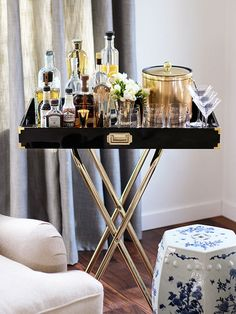 Party-Ready Bar Cart