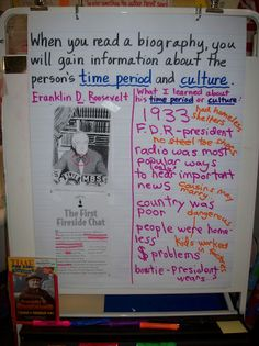 anchor chart on biographies