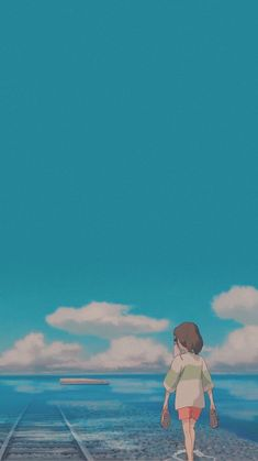 anime scenery from Studio Ghibli 😍 // lockscreens for you ✨ Anime Backgrounds Wallpapers, Anime Scenery Wallpaper, Cute Anime Wallpaper, Aesthetic Pastel Wallpaper, Animes Wallpapers, Cute Cartoon Wallpapers, Studio Ghibli Art, Studio Ghibli Movies, Aesthetic Art