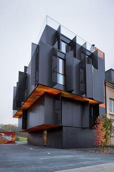 Monolithic apartment block Editorial