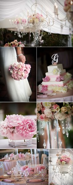 Pink theme, This would be my Wedding If I were to get Married again, which I have no plans to do!
