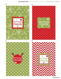 christmas candy wrappers. check to see if they downloaded.