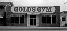 Original Gold's Gym at 1006 Pacific, Venice - Opened by Joe Gold in 1965.