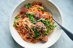 Špagety s kuřecími kuličkami 2, Foto: All