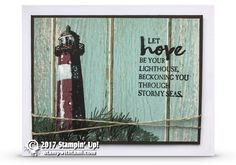 VIDEO: Highlighting with Blender Pens and High Tide Lighthouse Stamps   Stampin Up Demonstrator - Tami White - ——— S U P P L I E S ———  • High Tide Photopolymer Stamp Set143006 • Serene Scenery Designer Series Paper Stack #141642 • Whisper White 8-1/2X11 Card Stock #100730 • Basic Black Archival Stampin Pad #140931