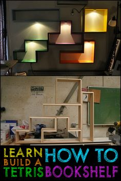 Anyone game for a DIY Tetris Bookshelf project?