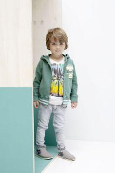 Kidsfashion Tumble 'n Dry Boy shirt Korte Mouw | Beach Print Summer | Zomercollectie | Hip | www.kienk.nl