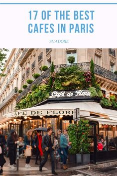 17 of the Best Cafes in Paris According to There is no shortage of unique and stunning in Paris. Here's SVADORE's list of the coolest, most beautiful, and best cafes in Paris. Best Cafes In Paris, Best Restaurants In Paris, Chicago Restaurants, Paris Travel, France Travel, Travel Europe, Travel Usa, Travel Destinations, Paris In Spring