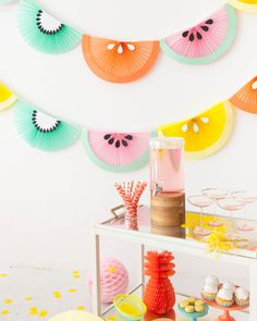 Fruit Wedge Bunting | Oh Happy Day!