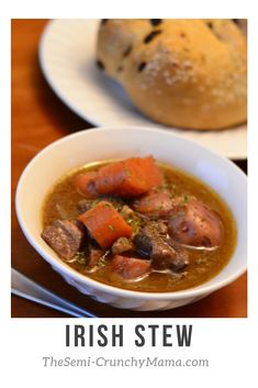 Flavorful and delicious, this Irish Stew is made with Lamb and beer, perfect for your St. Patrick's Day celebration!