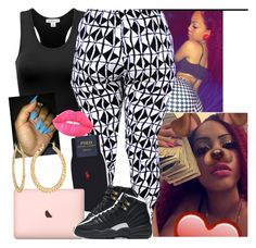 """""""✔️✔️✔️"""" by saucinonyou999 ❤ liked on Polyvore featuring Polo Ralph Lauren, Fragments, NIKE and Lime Crime"""