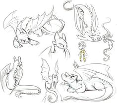 Pin by bryson bregant on drawing in 2019 dessin de dragon, d Animal Sketches, Animal Drawings, Drawing Sketches, Art Drawings, Dragon Drawings, How To Train Dragon, How To Train Your, Toothless Drawing, Dragon Sketch