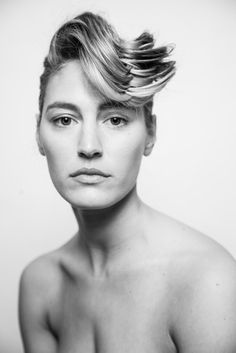 French Twist with Swooping Fringe - Front View Updos, Hairdresser, Your Hair, Stylists, Nyc, French, Education, Studio, Style