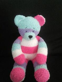 Sock teddy bear.
