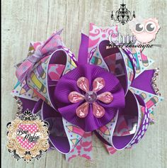 "Chic Tweet Bowtique  Color Cutie OTT Bow (approx. 4"") Bow is stacked onto pinwheel bow. Please specify choice of clip when purchasing (Alligator or French Barrette)   Starting Bid: $5.00 Bid Increments: $1.00  BIN: $8.00  Shipping: $3.00 (will combine shipping for additional $.50 per item purchased from CTB)  www.facebook.com/chictweetbowtique Bid Here: https://www.facebook.com/BOWMAFIAGIRLS/photos/a.734450866617720.1073741943.477604452302364/734698433259630/?type=3&theater"