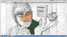 Image result for photoshop drawing