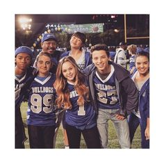 Brec Bassinger with the Bella and the Bulldogs cast
