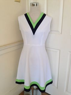 Vintage 70s A-line tennis dress by boo3 on Etsy, £25.00
