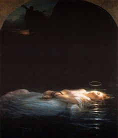 La Jeune Martyre (The Young Martyr) by Paul Delaroche... I have this painting (a replica of course)and I'm hanging it up in my prayer room.